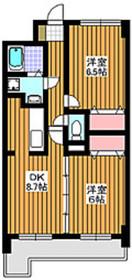 東武練馬駅 徒歩17分2階Fの間取り画像