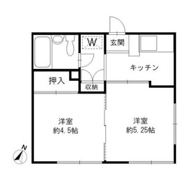 西横浜駅 徒歩16分2階Fの間取り画像