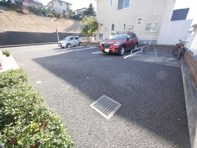 サンリットヴィラⅢ駐車場