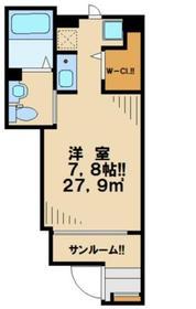 Casa Raffinato1階Fの間取り画像