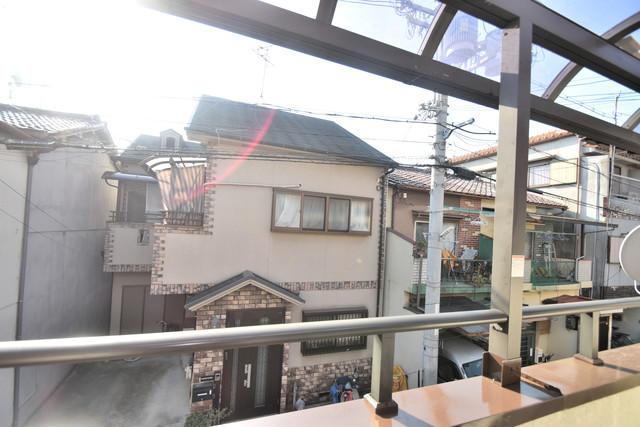 大蓮南2-18-9 貸家 この見晴らしが陽当たりのイイお部屋を作ってます。