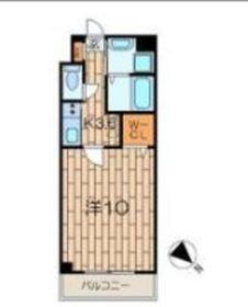 ピノ エスペランサ5階Fの間取り画像