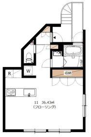 Orbit駒沢3階Fの間取り画像