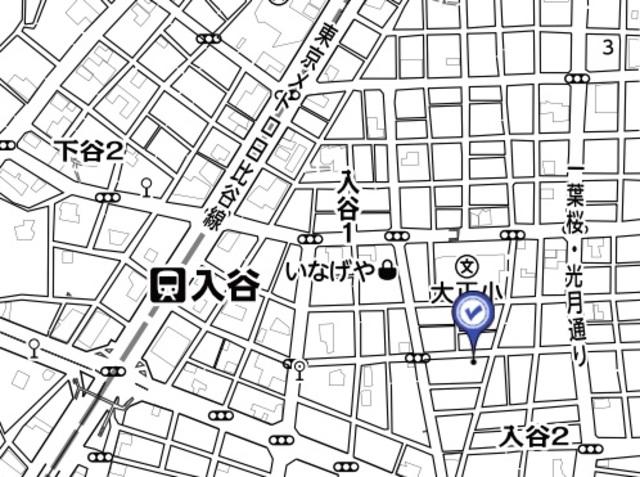 アムールマンション案内図