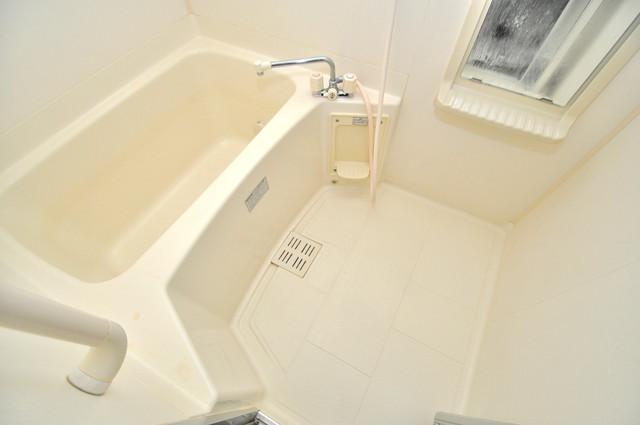 サンパティーク・メゾン 広めのお風呂は一日の疲れを癒してくれます。