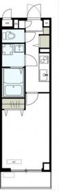 リブリ・コンフォート石川4階Fの間取り画像