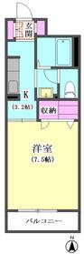 シャーメゾン萩 102号室