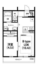 リブリ・Pua lani2階Fの間取り画像