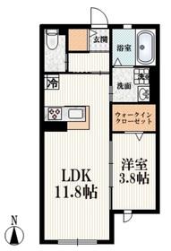 柴崎駅 徒歩31分1階Fの間取り画像