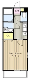 リブリ・クレイン2階Fの間取り画像