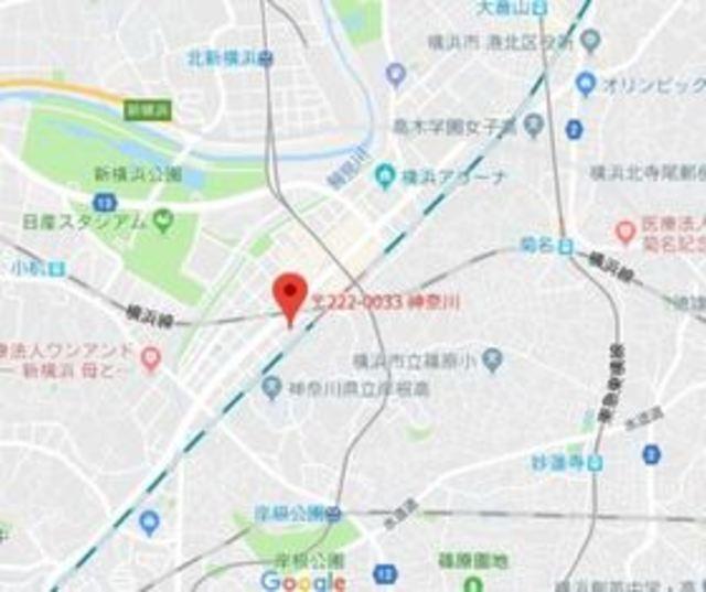 レジディア新横浜案内図