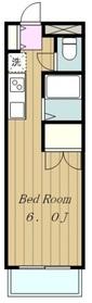 メゾン・ド・シオン1階Fの間取り画像