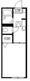 上大岡駅 徒歩13分1階Fの間取り画像
