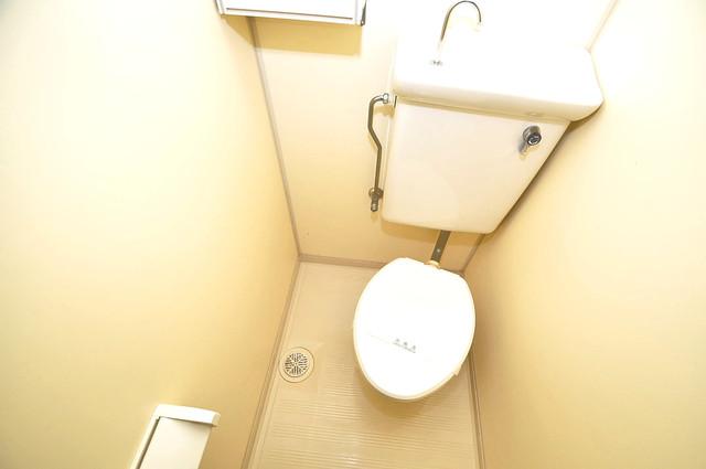 ランド雅 スタンダードなトイレは清潔感があって、リラックス出来ます。