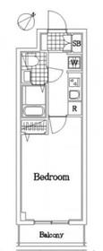 鶴見市場駅 徒歩1分7階Fの間取り画像