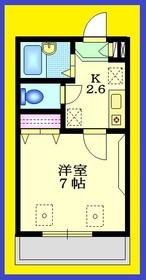 フォンターナ2階Fの間取り画像
