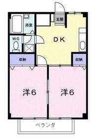 メゾン栄和2階Fの間取り画像