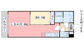 サクセス伊都本館7階Fの間取り画像