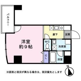 Avanti Parco野田6階Fの間取り画像