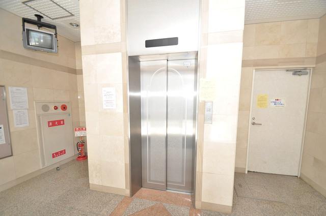 Grand Michelle(グランミッシェル) 嬉しい事にエレベーターがあります。重い荷物を持っていても安心