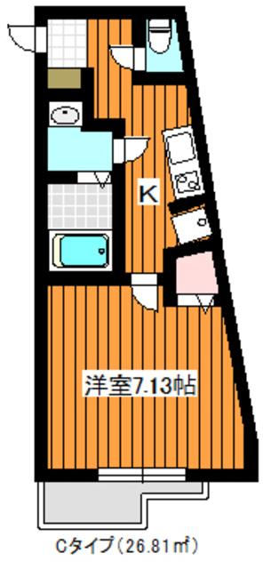 地下鉄成増駅 徒歩10分間取図