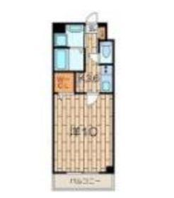 ピノ エスペランサ4階Fの間取り画像