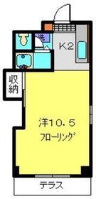 トウェルブ大倉山3階Fの間取り画像