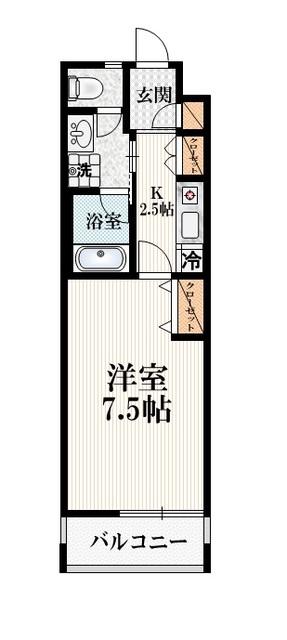 コーナス・コート間取図