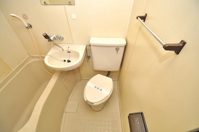 ラフォーレ菱屋西Ⅱ 清潔感たっぷりのトイレです。入るとホッとする、そんな空間。