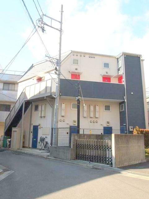 リーヴェルポート新川崎の外観画像