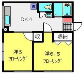 東神奈川駅 徒歩13分5階Fの間取り画像