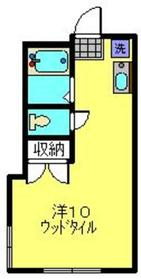 エステートピア富士見1階Fの間取り画像