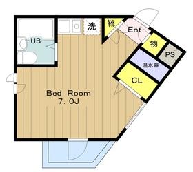 ヤングライフ永山3階Fの間取り画像