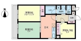 屏風浦駅 徒歩22分1階Fの間取り画像