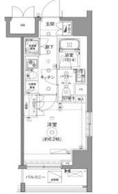 セジョリ川崎3階Fの間取り画像