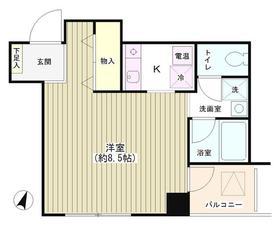 TKR神田多町3階Fの間取り画像