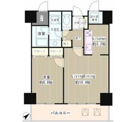 トレステージ目黒9階Fの間取り画像