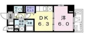 ルソレイユ4階Fの間取り画像