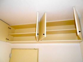 5帖洋室の上部収納
