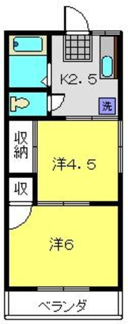 三ッ沢上町駅 徒歩13分間取図
