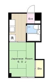 柿生駅 徒歩19分2階Fの間取り画像