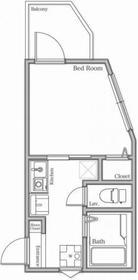 仮称 新百合ヶ丘デザイナーズアパート3階Fの間取り画像