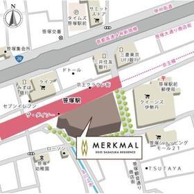 メルクマール京王笹塚レジデンス案内図