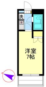 ジョイ北浦和1階Fの間取り画像