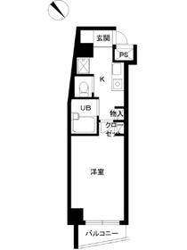 スカイコート目白台6階Fの間取り画像