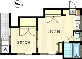 シティフラット川崎南2階Fの間取り画像