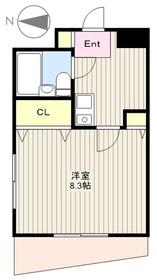 南橋本レジデンス2階Fの間取り画像