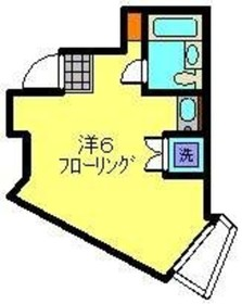 星川駅 徒歩7分2階Fの間取り画像