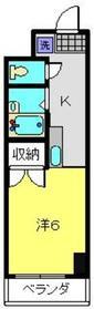 三ッ沢上町駅 徒歩17分2階Fの間取り画像