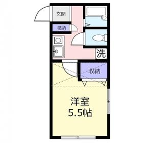 ラウレアk1階Fの間取り画像